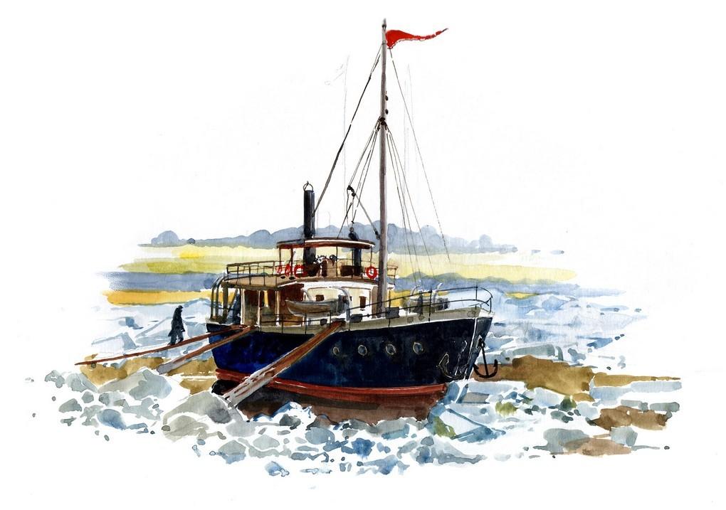 Первая советская арктическая Усть-Ленская экспедиция
