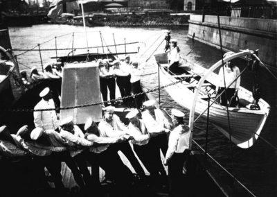 Морской корпус. Шлюпочные учения