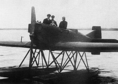 12 Самолет Junkers Ju20 Б.Г.Чухновского (Маточкин Шар 1925 г.)