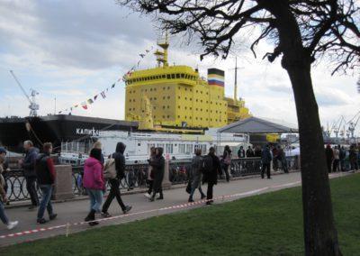 4 мая 2019 года стартовал Фестиваль ледоколов на Неве!