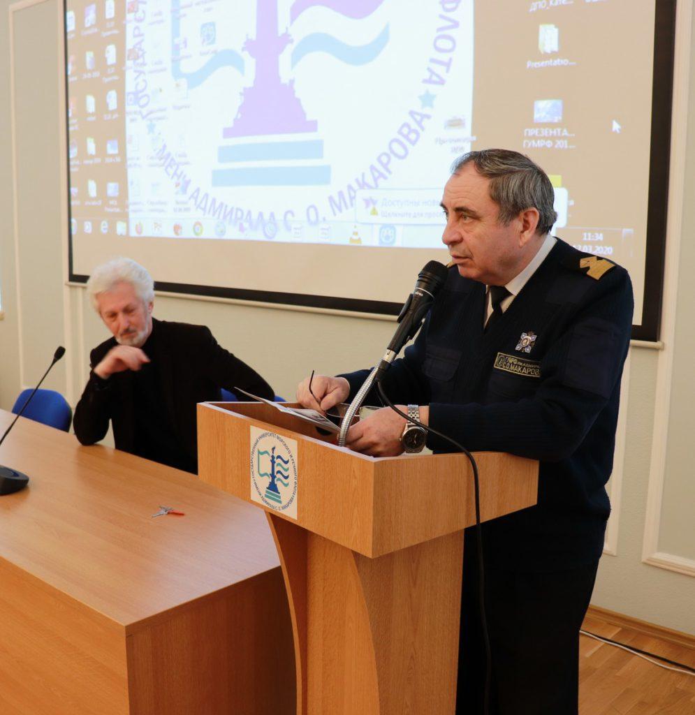 12 марта в Государственном университете морского и речного флота им. С.О.Макарова прошла презентация проекта «Неизвестные герои Севера».