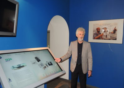 С 7 августа по 8 сентября 2020 года в мемориальном музее Ю.А.Сенкевича демонстрировалась мультимедийная выставка проекта «Неизвестные герои Севера»