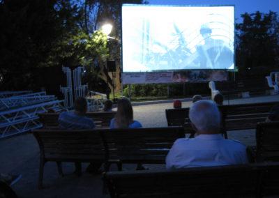 29 августа 2020 года, в открытом кинотеатре на Малаховом кургане г.Севастополь, в рамках Международного кинофестиваля «Победили вместе», прошел показ документального фильма «Белое безмолвие»