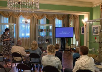 В Садовом павильоне Государственного музея А.С. Пушкина состоялась презентация проекта «Неизвестные герои Севера»