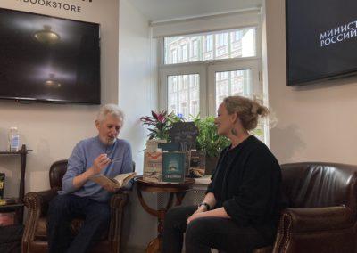 Презентация мультимедийного проекта «Неизвестные герои Севера» в книжном клубе «Достоевский»