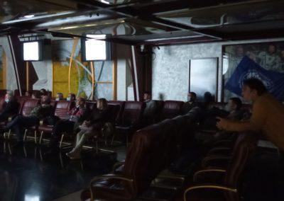 Показы документальных фильмов проекта «Неизвестные герои Севера» — «Победитель льдов» и «Арктический рейс» прошли 22 января, 03 февраля и 10 февраля в кинолектории Русского географического общества.