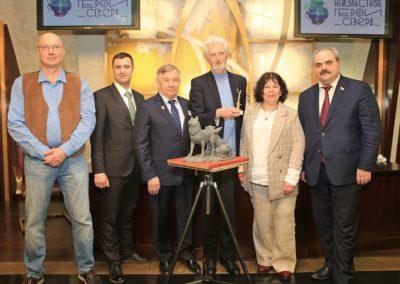 12 мая в Московском отделении Всероссийской общественной организации «Русское географическое общество» состоялась пресс-конференция о мультимедийном проекте «Неизвестные герои Севера»